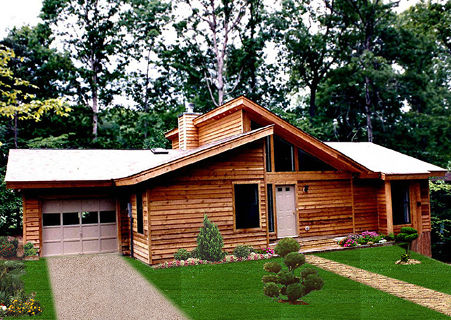 Cabin home series cbi kit homes