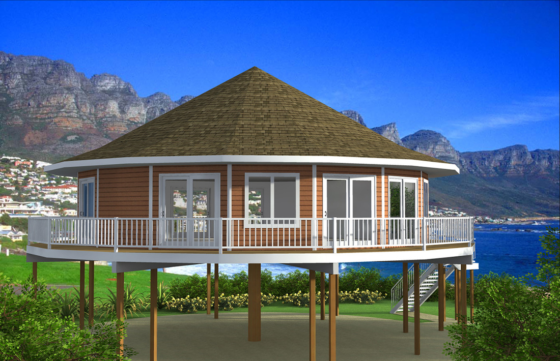 16 unique house plans on pilings home plans blueprints for Piling home plans