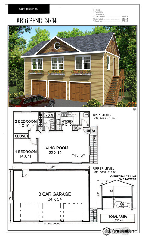 Carriage houses cbi kit homes for Carriage home plans