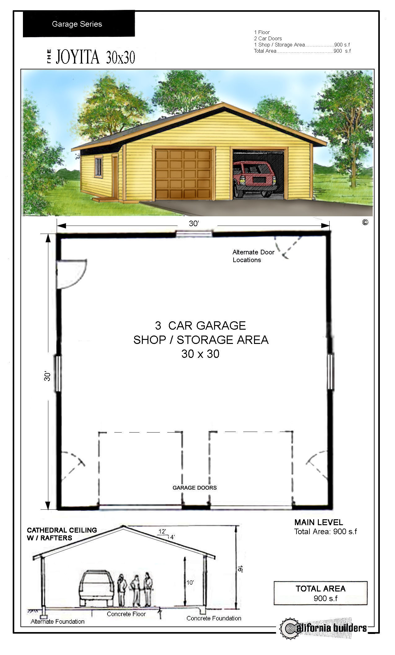 30x30 garage blueprints specs price release date redesign for 30 by 30 garage cost